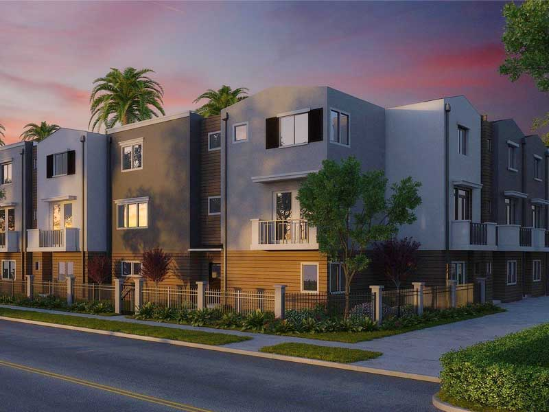 Condominium to illustrate a rental property for passive real estate investment